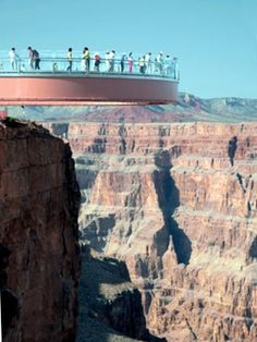 Sky Walk, Grand Canyon.