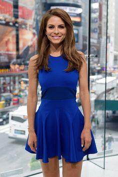 Maria Menounos-royal blue