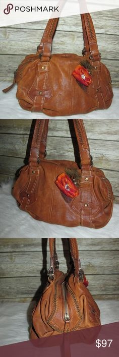 I just added this listing on Poshmark: Cole Haan Brown Pebbled Leather Hobo Tote Bag. #shopmycloset #poshmark #fashion #shopping #style #forsale #Cole Haan #Handbags