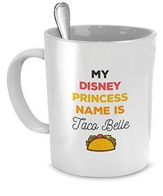 Mug Funny Gifts Funny Mugs - My disney princess name mug ...…