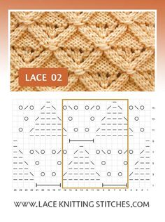 Pattern includes written instructions and chart Lace Knitting Stitches, Lace Design, Diy And Crafts, Chart, Pattern, Easy, Knitting, Dots, Tejidos