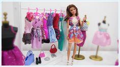 Como Fazer um Cabideiro Arara para Barbie e Outras Bonecas