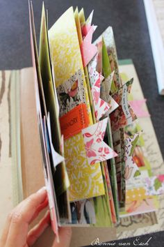 Inspiration: Memory File Folder Album