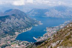 Kotorinlahti, Kotor Bay, Montenegro.