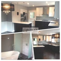 This lovely kitchen and bath by Roman Realty Group is from our upcoming listing in Chicago