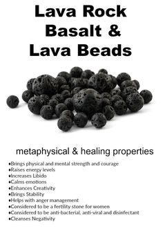 Lava Rock, Basalt, and Lava Beads – Mode für Frauen Crystals And Gemstones, Stones And Crystals, Essential Oil Jewelry, Essential Oils, Savon Soap, Rock Jewelry, Bead Jewelry, Jewelry Making, Diy Jewelry