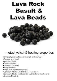 Lava Rock, Basalt, and Lava Beads – Mode für Frauen