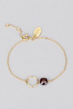 Incredibly Fiji garnet gemstone bracelet - Caroline Najman - Women's Jewelry and Accessories-Women Fashion Beaded Wrap Bracelets, Gemstone Bracelets, Handmade Bracelets, Jewelry Bracelets, Handmade Jewelry, Silver Bracelets, Silver Jewelry, Gothic Jewelry, Ring Bracelet
