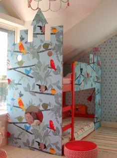 Cool Ikea Kura Beds Ideas For Your Kids Room03