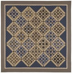 Tavern Blues Quilt - great guys quilt!