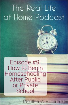How to Begin Homeschooling After Public or Private School