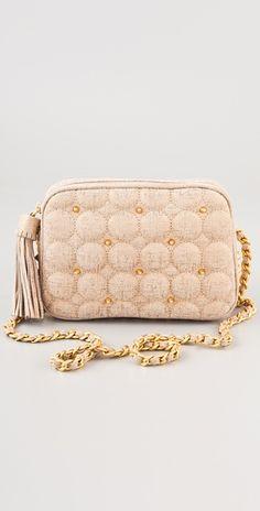 Rebecca Minkoff Quilted Shimmer Flirty Bag! violette sells her stuff!