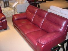 HTL Leather Sofa - Attention to detail paired with superb style. Las Vegas Furniture Market, Portland Furniture, Cheap Furniture, House Design, Furniture Store, Furniture, Home Furniture, Leather Sofa, Furniture Movers
