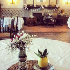 Detalles boda vintage en @Paradores de Turismo #oropesa