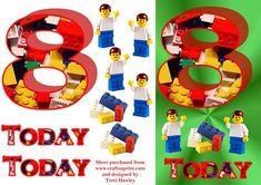 A great birthday card to send a boy turning 8 that love& lego, what boy does& easy to make step by step card. Boy Birthday, Birthday Cards, Step Cards, Iris Folding, Decoupage, Lego, Card Making, Greeting Cards, Kids Rugs