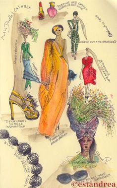 Miss Doodle's Catwalk