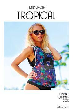 Paradise Island, Spring Summer 2015, Tankini, Bikinis, Swimwear, Ethnic, Fashion, Vestidos, Spring Summer Trends