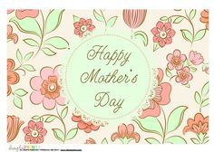 free mothers day printables from @DimplePrints- Carli
