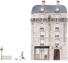 My Little Paris, Kanako illustration