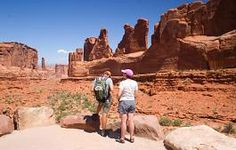 Moab Easy Hike, Beginner Hikes in Moab Utah, Courthouse Wash Trail, http://www.softseattravel.com/Moab-Easy-Hikes-Beginner-hikes-Moab-Utah.html