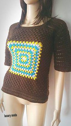 JANKA321 / Hnedý sveter