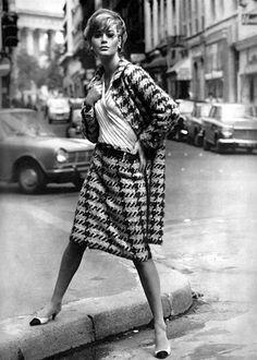 CHANEL pied-de-poule, 1965