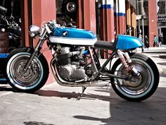 Honda CB750 Cafe Racer #motorcycles #motos #caferacer | caferacerpasion.com