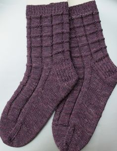 Ravelry: Block of Chocolate Socks by Cindy Twopaw
