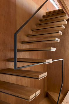 super ideas for floating stairs design railings Staircase Handrail, Open Staircase, Staircase Remodel, Stair Railing, Staircase Design, Handrail Ideas, Staircase Ideas, Open Basement Stairs, Basement Ideas