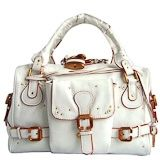 Chloe Paddington Satchel Ivory Leather handbag