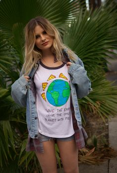 Save the earth! It is the only planet with pizza! | JV by Jac Vanek