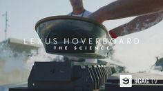 Lexus Finally Reveals How Hoverboard Actually Works - 9GAG.tv