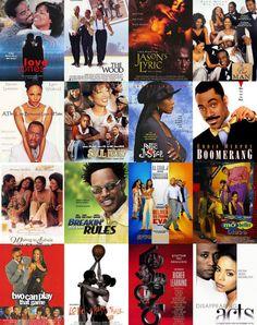 "neshalovees: """"Black Cinema"" Good movies where art thou? Black Love Movies, Black People Movies, Black Sitcoms, African American Movies, Old School Movies, Black Tv Shows, 90s Tv Shows, Plus Tv, Romantic Movies"