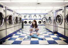 I want to do a laundromat photoshoot.