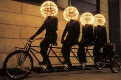 Conference Bike by Eric Staller Light Art, Lamp Light, Light Crafts, Light Installation, Public Art, Old Photos, Graffiti, Neon, Pictures