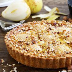 Sqsuisita crostata di pere al mascarpone, combinando le pere con la crema al crema di mascarpone si ottiene una crostata semplicemente ottima, adatta ad ogni occasione !