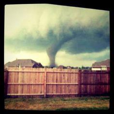 April 3, 2012 tornado hit Dallas, Texas and surrounding communities (Arlington, Lancaster & Forney)
