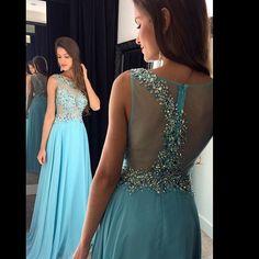 Blue Prom Dress Long, Prom Gown Cheap, Formal Evening Dresses,Party Dress Cheap, Homecoming Dresses,Graduation Dress Custom Plus size