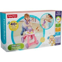 Fisher Price Laugh  Learn Smart Stages Tea Cart Walker * Find out more about the great product at the image link.