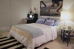ESTILO PILAR 2015 Bouquet El cuarto elegimos negros y azules intensos, alfombra cebra rallada. SALAZAR Casa