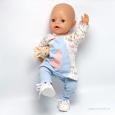 Freebook von Monalienchen - Tunika für BabyBorn