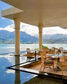 St. Regis Princeville, Kauai . This took my breathe away when I was there.