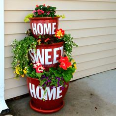 Cute Idea. I can see this in my yard! =)