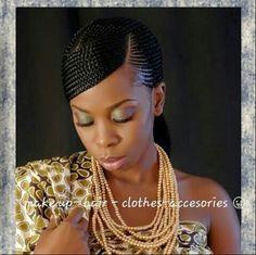 Ghana braids ~African fashion, Ankara, kitenge, African women dresses, African prints, Braids, Nigerian wedding, Ghanaian fashion, African wedding ~DKK
