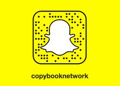 Add us on Snapchat: copybooknetwork Snapchat, Posts, Messages