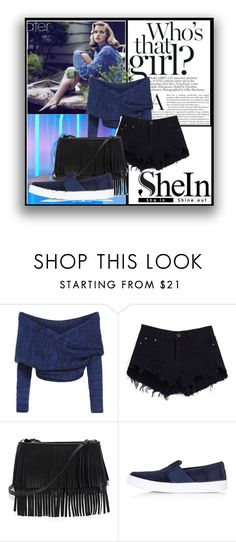 """SheIn contest"" by emina-393 ❤ liked on Polyvore featuring White House Black Market, Topshop and Diane James"