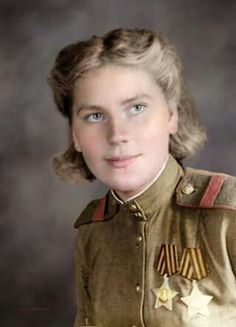 Roza Shanina. Soviet sniper during WWII 59 kills. Killed saving her friend from a shell explosion 3 months before the end of war.