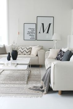 60 Best Inspire Scandinavian Living Room Design December Leave a Comment It's very easy to recognize a Scandinavian interior design. But there isn't just one Scandinavian style but several and they all have certain elements in com Living Room Interior, Home Living Room, Apartment Living, Living Room Designs, Living Room Decor, Bedroom Apartment, Scandinavian Interior Design, Scandinavian Living, Nordic Living