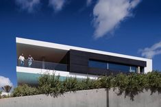 Portuguese architect Mario Martins designed this ocean view home in Lagos, Portugal.