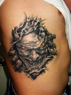 Yellow Eyes Rip Tattoo